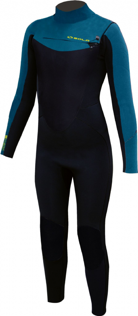 SOLA SYSTEM 5/4 YOUTH FRONT ZIP FULLSUIT